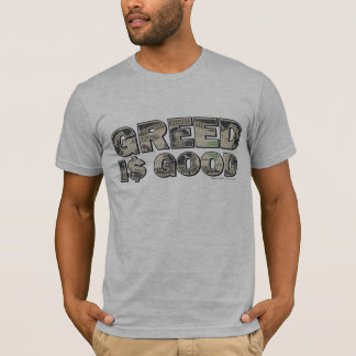 Wall Street/ Greed is Good T-Shirt