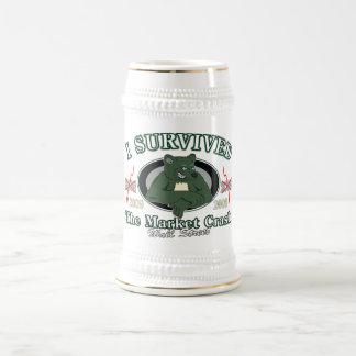 Wall-street/I Survived the Market Crash Beer Steins