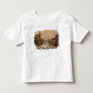 Wall Street in Winter Toddler T-Shirt