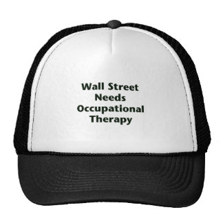 Wall Street Needs Occupational Therapy Cap