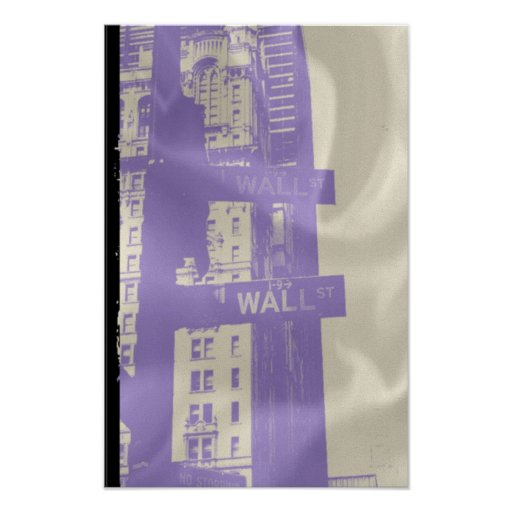 Wall Street Nyc Poster