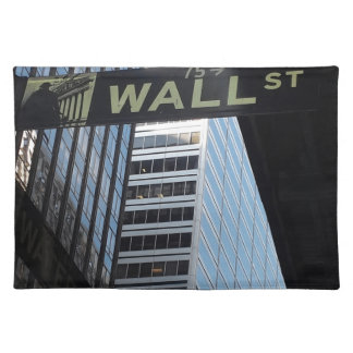 Wall Street Placemat