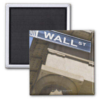 Wall Street Square Magnet