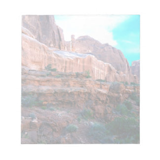 Wall Street trail Arches National Park Notepads