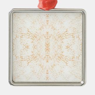 Wall texture flower Rorschach Christmas Ornament