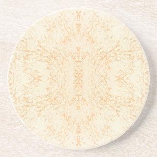 Wall texture flower Rorschach Coaster