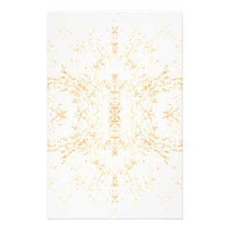Wall texture flower Rorschach Stationery