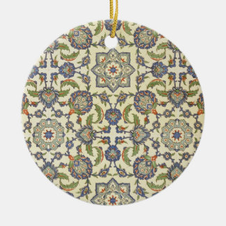 Wall tiles of Qasr Rodouan, from 'Arab Art as Seen Christmas Ornament