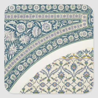 Wall tiles of Sibyl D'Abd-El-Rahman Kyahya, from ' Square Sticker
