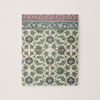Wall tiles of the Mosque of Cheykhoun, from 'Arab Jigsaw Puzzle