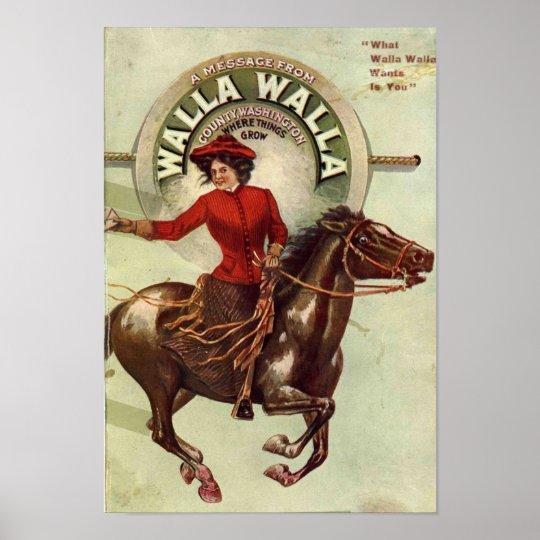 Walla Walla Poster
