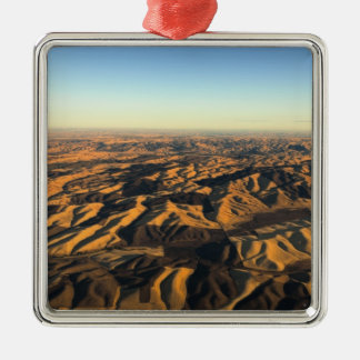 Walla Walla wine country from aloft Christmas Ornament