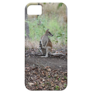 WALLABY AND JOEY RURAL QUEENSLAND AUSTRALIA iPhone 5 COVER