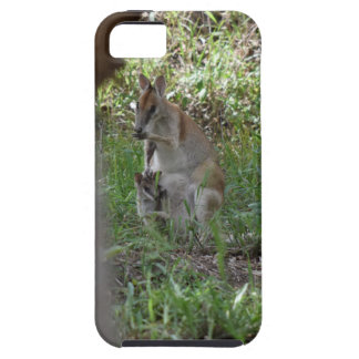 WALLABY AND JOEY RURAL QUEENSLAND AUSTRALIA TOUGH iPhone 5 CASE