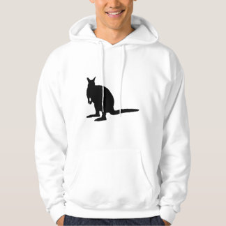 Wallaby. Hoodie