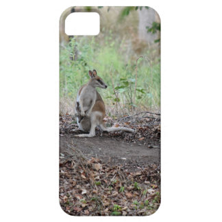 WALLABY & JOEY RURAL QUEENSLAND AUSTRALIA BARELY THERE iPhone 5 CASE