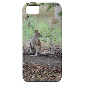 WALLABY & JOEY RURAL QUEENSLAND AUSTRALIA CASE FOR THE iPhone 5