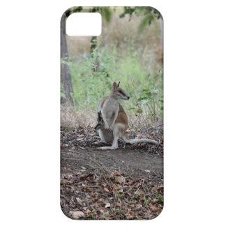 WALLABY & JOEY RURAL QUEENSLAND AUSTRALIA iPhone 5 CASE
