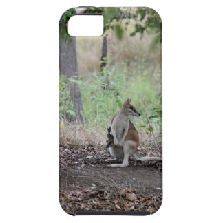 WALLABY & JOEY RURAL QUEENSLAND AUSTRALIA iPhone 5 COVER