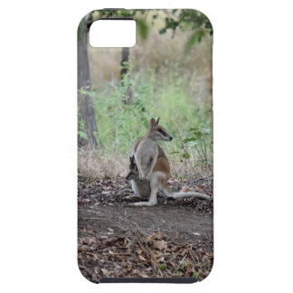 WALLABY & JOEY RURAL QUEENSLAND AUSTRALIA iPhone 5 COVERS