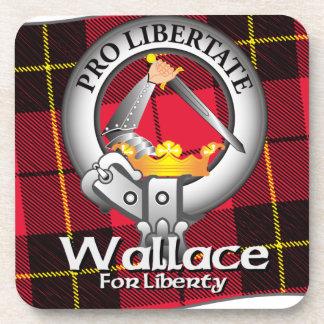 Wallace Clan Beverage Coaster