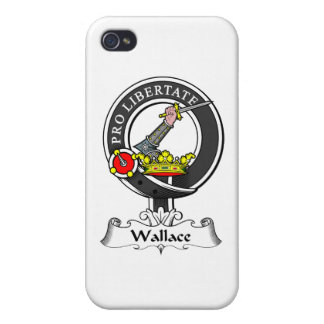 Wallace Clan Crest Cases For iPhone 4