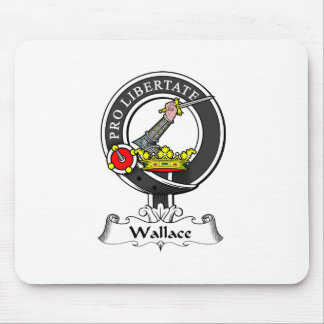 Wallace Clan Crest Mouse Pad