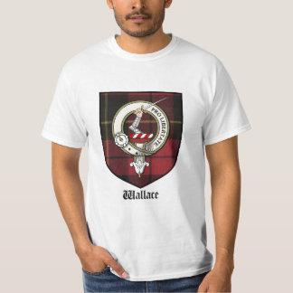 Wallace Clan Crest Tshirt / Clan Badge / Tartan