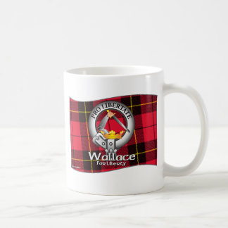 Wallace Clan Classic White Coffee Mug