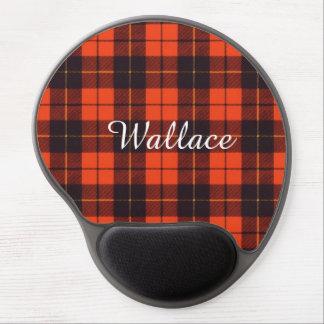 Wallace clan Plaid Scottish tartan Gel Mouse Pads