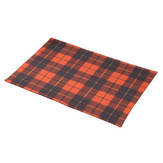 Wallace clan Plaid Scottish tartan Placemat