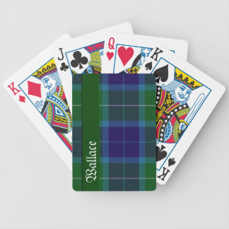 Wallace Clan Tartan Plaid Playing Cards