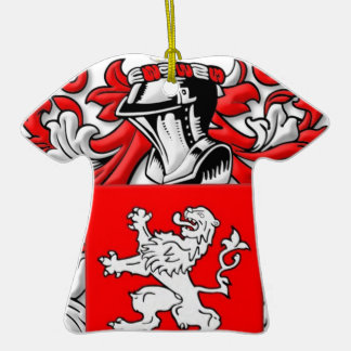 Wallace Coat of Arms Ornament