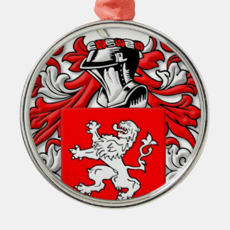 Wallace Coat of Arms Christmas Ornaments