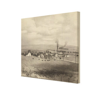 Wallace, Kansas Canvas Print