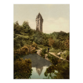 Wallace Monument, Stirling, Scotland Poster