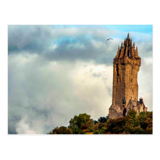 Wallace National Monument Postcard