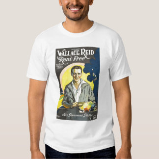 Wallace Reid Rent-Free 1922 movie poster T Shirt
