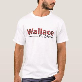 Wallace Scottish Clan Tartan Name Motto T-Shirt