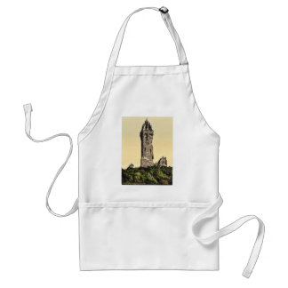 Wallace Statue I, Stirling, Scotland classic Photo Aprons