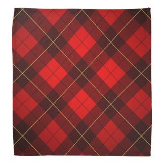 Wallace tartan background bandana