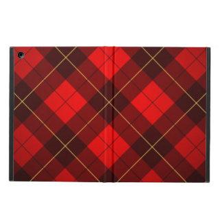Wallace tartan background iPad air cover