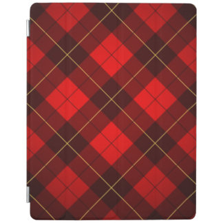 Wallace tartan background iPad cover