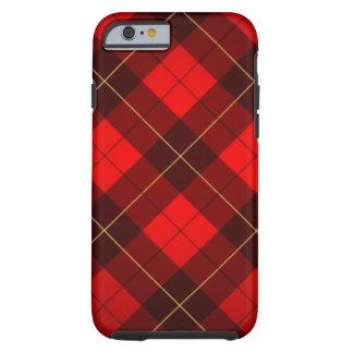 Wallace tartan background tough iPhone 6 case
