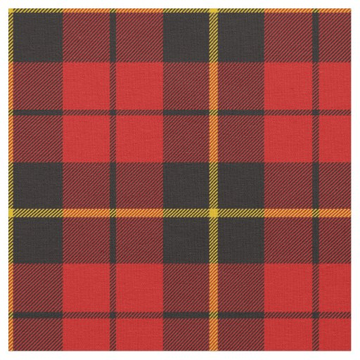 Wallace Tartan Print Fabric