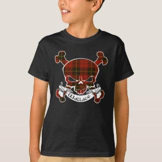 Wallace Tartan Skull T-Shirt