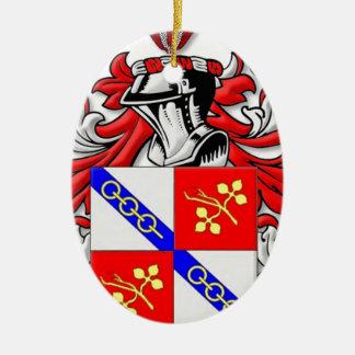 Wallander Coat of Arms Ceramic Oval Decoration