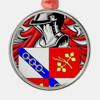 Wallander Coat of Arms Christmas Tree Ornaments
