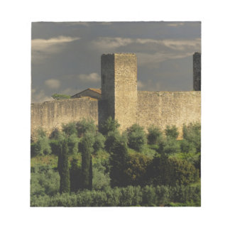 Walled city of Monteriggioni, in the province of Notepad