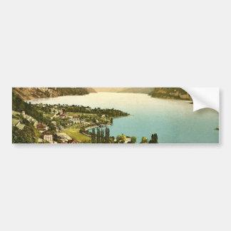 Wallenstadt Lake, Weesen, near Leistkamm and view Bumper Stickers